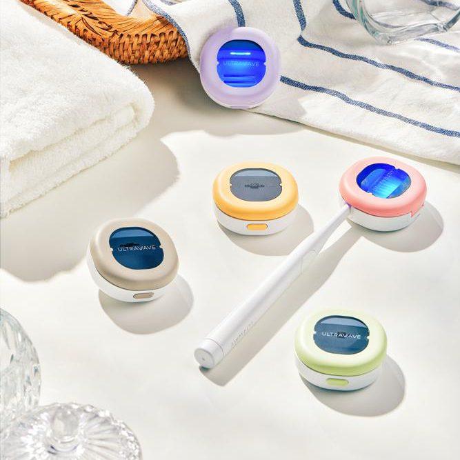 歯ブラシ除菌キャップ コンパクト<br>MDK-TS00