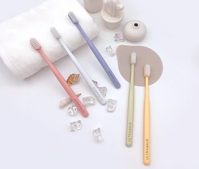 【新商品】医療機器メーカープロデュース!歯茎にやさしい極細毛のULTRAWAVEの歯ブラシを新発売致します。